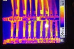 Thermographie Testo recherche de fuite circuit chauffage